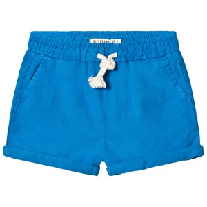 Image of Billybandit Blue Canvas Shorts 12 years (2910236561)