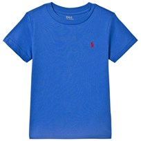 Ralph Lauren Blue Tee with Small PP 011