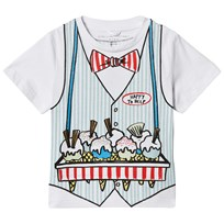 Stella McCartney Kids Ice Cream Seller Print Arlo T-shirt 9082