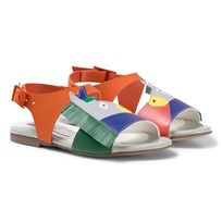 Stella McCartney Kids Multi Colour Donkey Penny Sandals 6165