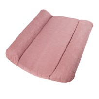 sebra Quilted Changing Mat Pink Lyserød