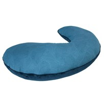 sebra Dino Breastfeeding Pillow Blue