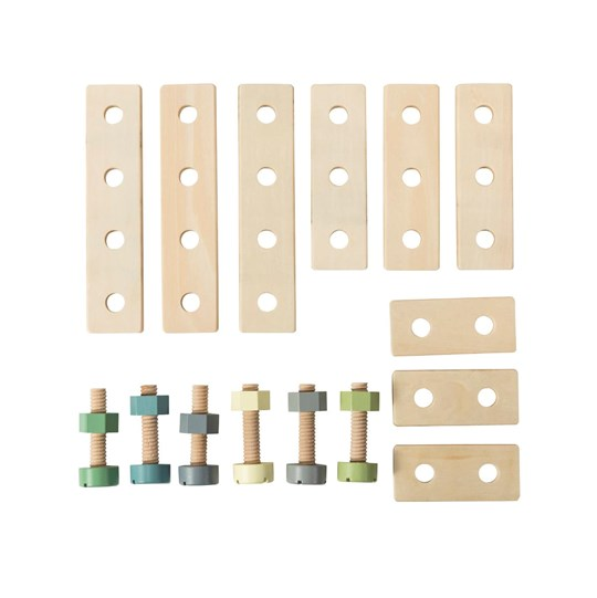 sebra Wooden Construction Set Wood