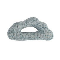 sebra Knitted Rattle Cloud Blue cloud blue