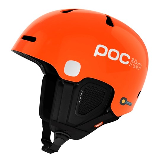 POC Bright Orange POCito Fornix Kids Ski Helmet 1204 POCITO ORANGE