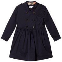 Burberry Navy Lillyana Trench Dress Midnight Blue