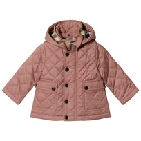 Burberry Pink Quilted Jamie Jacket Pale Rose