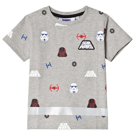 Fabric Flavours Grey Star Wars Imperial Tee Black
