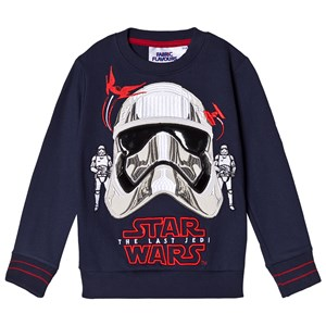 Image of Fabric Flavours Navy Captain Phasma Sweatshirt 9-10 years (2911758557)