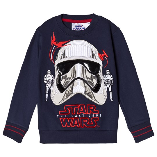 Fabric Flavours Navy Captain Phasma Sweatshirt Navy