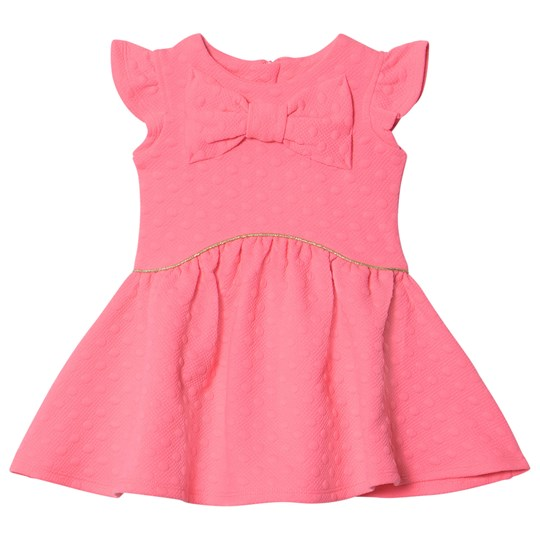 Billieblush Pink Bow Front Skater Dress 49H