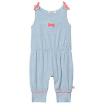 Billieblush Blue Candy Stripe Dungarees N48