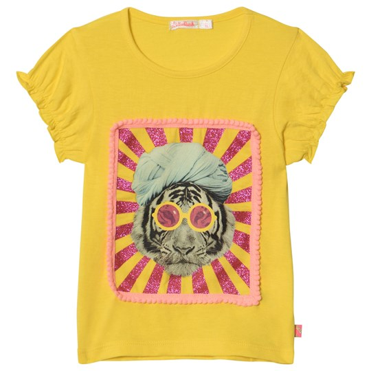Billieblush Turban Tiger Tee Gul 548