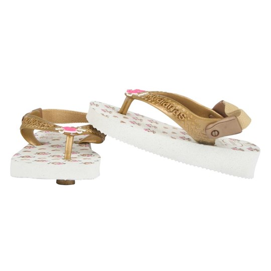 Havaianas Baby Chic White Golden White