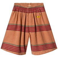 Bobo Choses Stripes Linen Pants Muted Clay Muted Clay