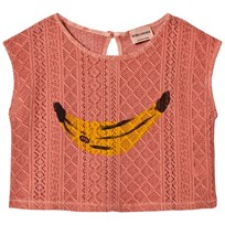 Bobo Choses Banana Sleeveless Shirt Lobster Bisque Lobster Bisque