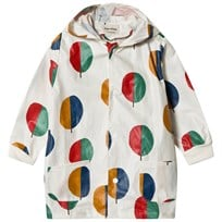 Bobo Choses Forest Raincoat Buttercream Buttercream