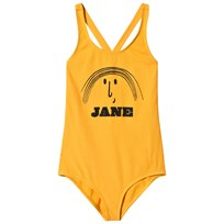 Bobo Choses Little Jane Swimsuit Banana Banana