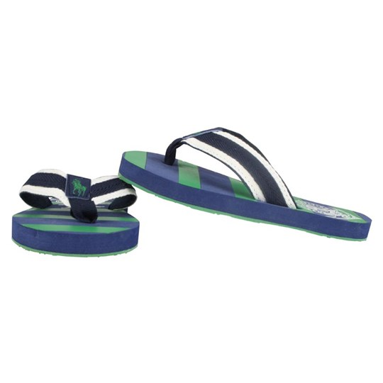 Ralph Lauren Wayler Thong Navy/Green Blue