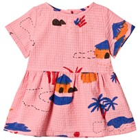Bobo Choses Gombe Tee-Dress Strawberry Ice Strawberry Ice