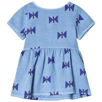 Bobo Choses Clouds Tee-Dress Heritage Blue Heritage Blue