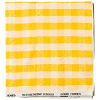 Bobo Choses Yellow Vichy Towel Banana Banana