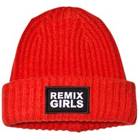 Little Remix LR Sydni Badge Hat Red Red