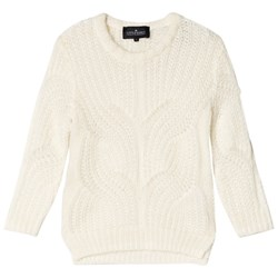 Little Remix Vicki Cable Sweater Cream