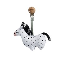 OYOY Horse - Baby carrier clip Black / White