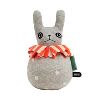 OYOY Roly-Poly - Rabbit Light Grey