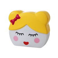 Rice Sweet Face LED Lamp Pink/Yellow