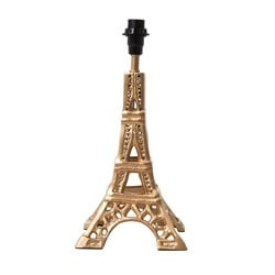 Rice Small Metal Eiffel Tower Table Lamp Gold