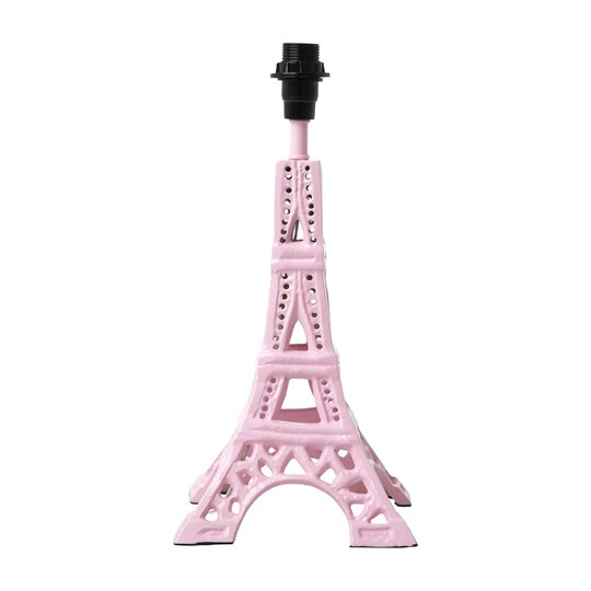 Rice Small Metal Eiffel Tower Table Lamp Soft Pink Soft Pink