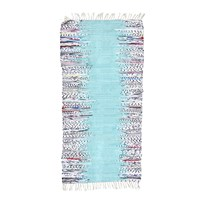 Rice Handmade Cotton Runner - Mint Mint