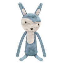 sebra Crochet Rabbit Cloud Blue cloud blue
