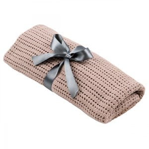 Image of NG Baby Cellular Blanket Dusty Pink One Size (1036361)