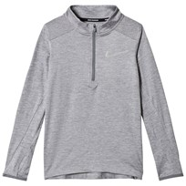 NIKE Grey Nike Long Sleeve Element Top 036