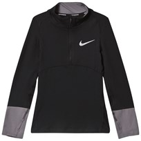 NIKE Black Nike Long Sleeve Dry Top 011