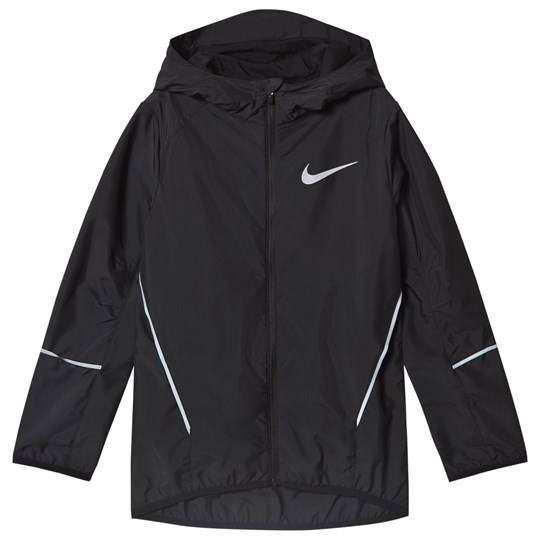 NIKE Black Nike Run Jacket 010