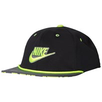 NIKE Black and Volt Nike Seasonal True Cap 010