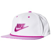 NIKE White and Pink Nike Seasonal True Cap 100