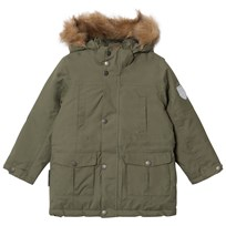 Ticket to heaven Parka Maron With Detachable Hood Four Leaf Clover Four Leaf Clover