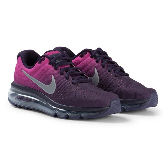 NIKE Purple and Pink Nike Air Max Running Shoes 500