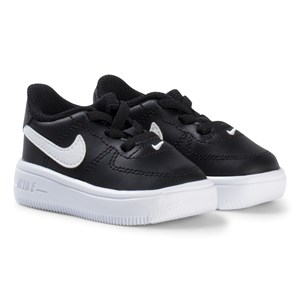 Image of NIKE Air Force 1 Infant Sneakers Black 17 (UK 1.5) (3125235445)
