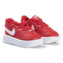 NIKE Red Air Force 1 Infants Trainers UNIVERSITY RED/WHITE