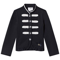 Le Chic Navy and White Military Jacket 190