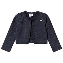 843236f53221 Le Chic Navy Glitter Jacket 190