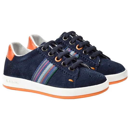 Paul Smith Junior Navy Rabbit Trainers Navy