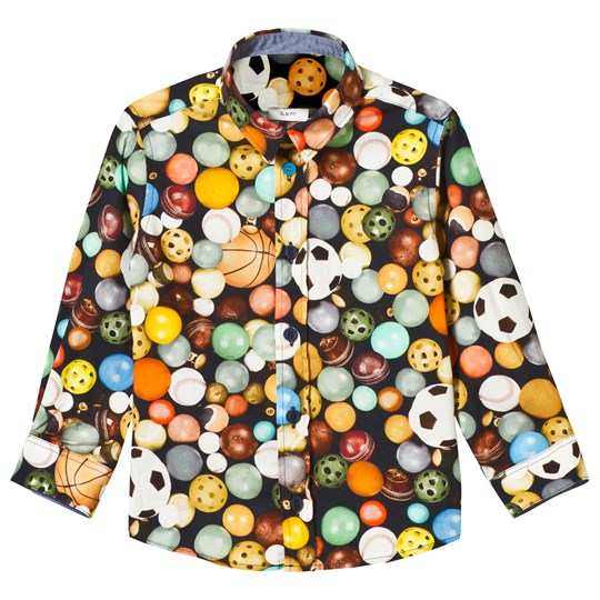 Paul Smith Junior Multi Balls Print Shirt 92