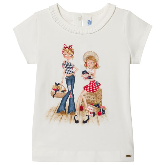 Mayoral Cream Farm Friends Print Tee 69
